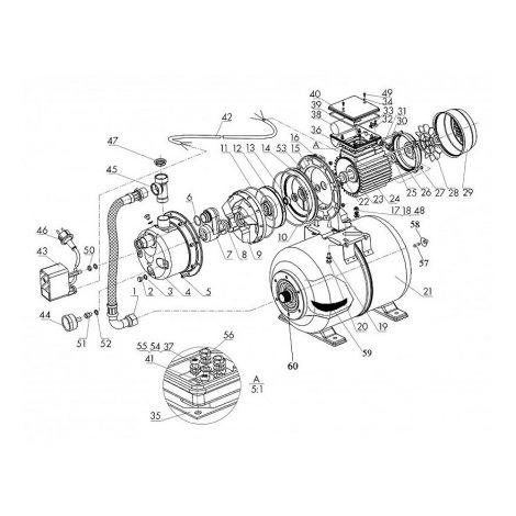 HWW 4500 INOX 3-Wege-Ventil Schema